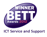 Joskos win the BETT 2012 Awards