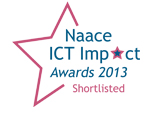 Joskos Solutions are shortlisted for the NAACE Impact Awards 2013