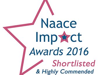 NAACE Impact Awards 2016 – Shortlisted